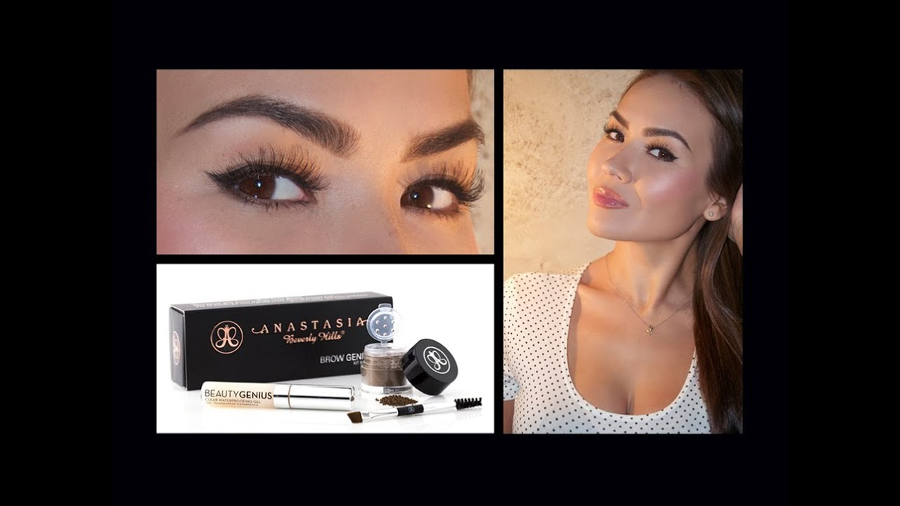 Perfect Brows With Brow Genius Kit Youtube