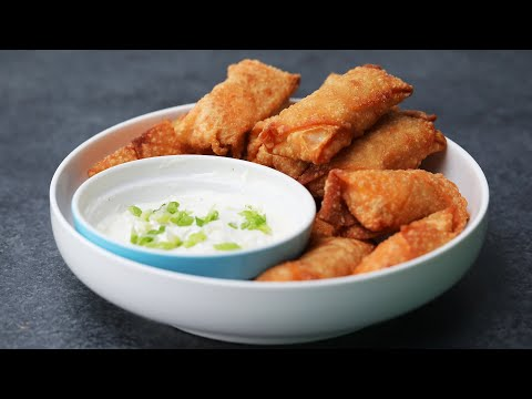 Buffalo Chicken Egg Rolls in 15 Minutes or Less // Presented by BuzzFeed & GEICO