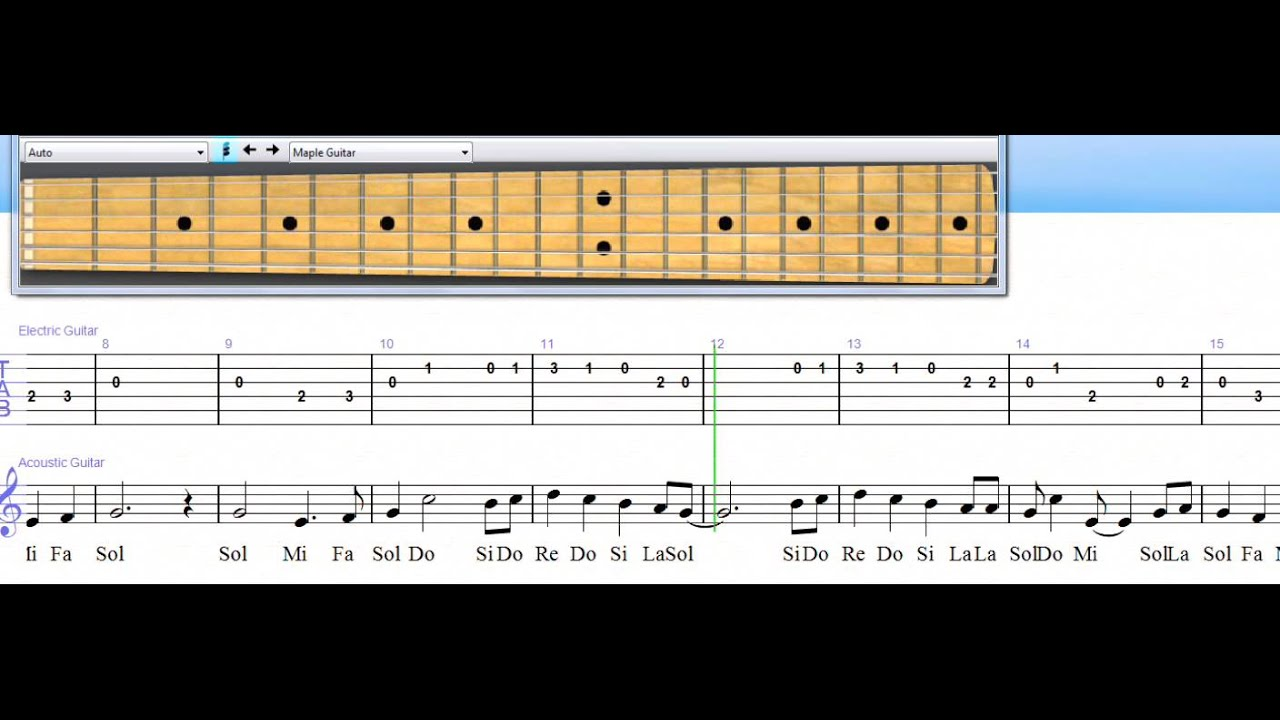 Frosty The Snowman For Guitar Level 6 Youtube