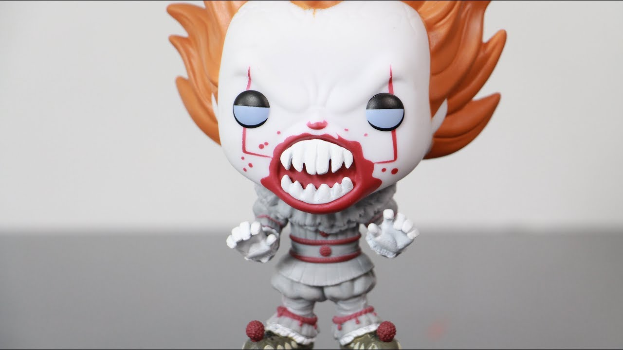Funko Pop It Movie 2017 Fye Exclusive Pennywise With Teeth