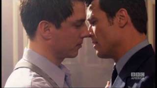 Captain Jack kisses Captain Jack - Torchwood - BBC America