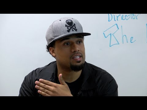 Film director and Cleveland native Steven Caple Jr. visits his former high school