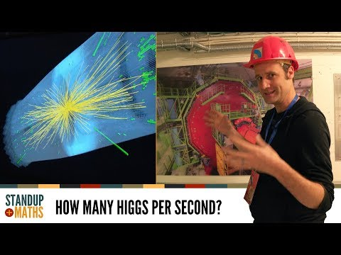 Stats of CERN: How many Higgs per second?
