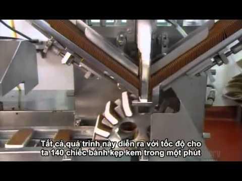 Quy trình sản xuất kem (ice cream production process)