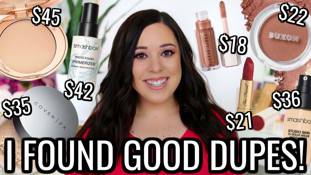 86a8d61c1 CHEAP DUPES FOR POPULAR HIGH END MAKEUP 2019! YOU NEED TO SEE THESE ...