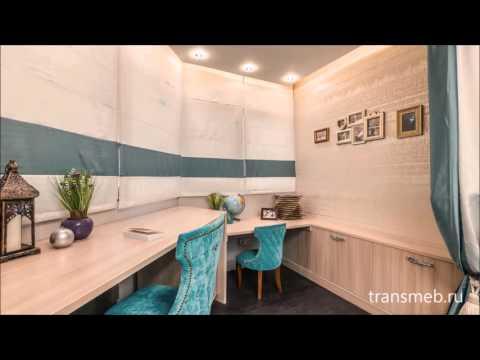 Шкаф-кровать трансформер 3 в 1 от TRANSMEB в Москве 2016