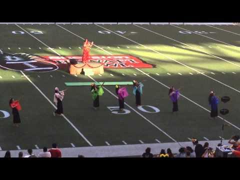Sheraton Hawaii Bowl Half Time Show 2013