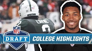 Justin Layne College Highlights   Pittsburgh Steelers