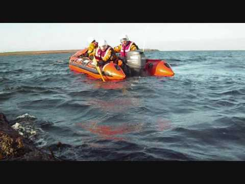 Irish Coast Guard Veering during a SAR course with Broadhaven Marine Training