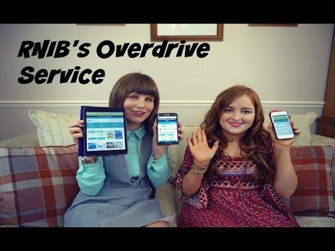 Talking RNIB's Overdrive Service | Fashioneyesta