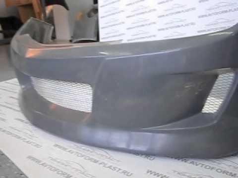 Передний бампер Opel Astra DM Style.