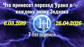 Что принесет переход 6.03.2019 Урана в Телец каждому знаку Зодиака