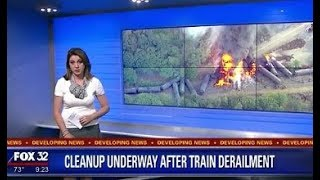 Train Jumps Tracks