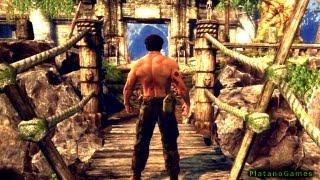 The Wolverine - Uncaged Story: Part 2 - Jungle - X-Men: Origins Videogame - HD