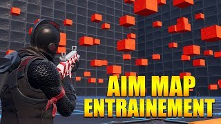 COMMENT AMELIORER SON AIM MAP ENTRAINEMENT sur FORTNITE BATTLE ROYALE !