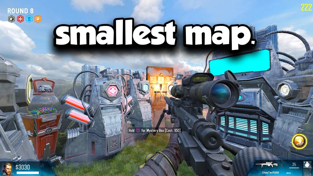 WORLD'S SMALLEST ZOMBIES MAP
