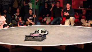 Autonomous Combat Robots Competition final battle