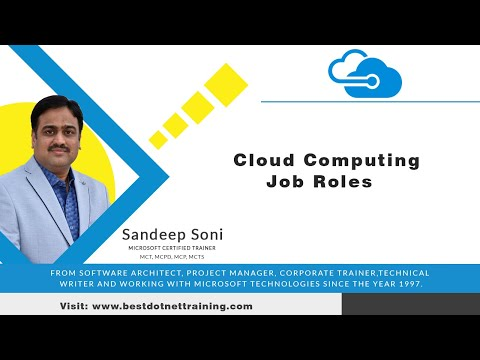 Cloud Computing Tutorial for Beginners | Cloud  Computing Job Roles | Microsoft Azure