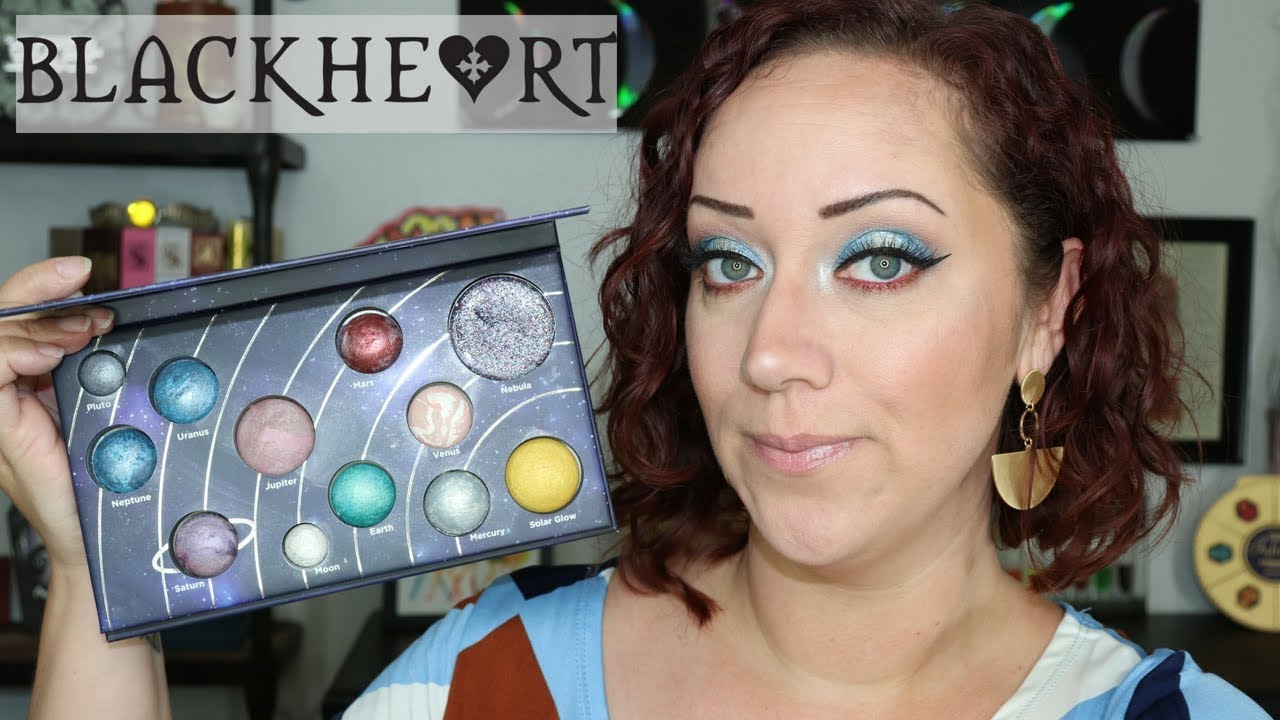 Astronomical Palette Blackheart Hot Topic Giveaway Update