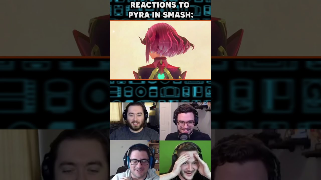 Reacting to the New Smash Bros DLC #shorts