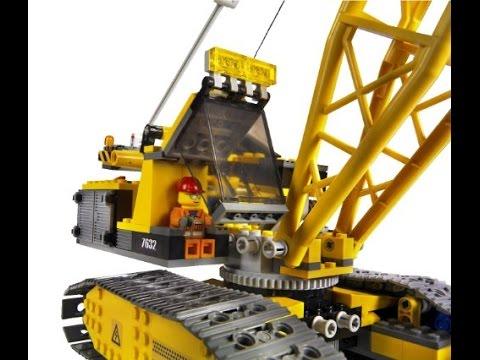 lego city la grue chenilles lego jouets pour les enfants youtube. Black Bedroom Furniture Sets. Home Design Ideas