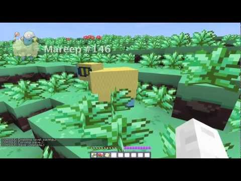 MoonLite plays Minecraft: Pokémon Texture Pack Part 1
