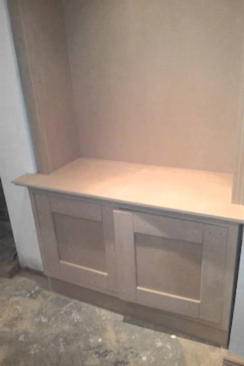 Alcove Cabinets Made Out Of Mdf You