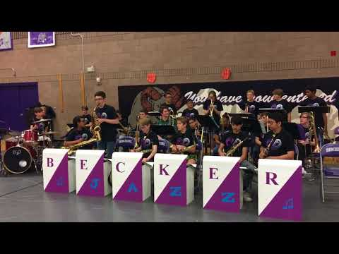 Blues Machine, Jazz Band, Becker Middle School, 5/8/18