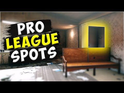 Solo Pro League Hiding Spots - Rainbow Six : Siege