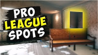 Solo Pro League Hiding Spots - Oregon/  Clubhouse/ Consulate - Rainbow Six : Siege