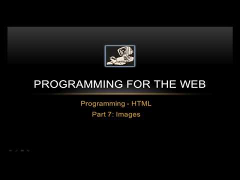 Images In HTML - Programming For The Web