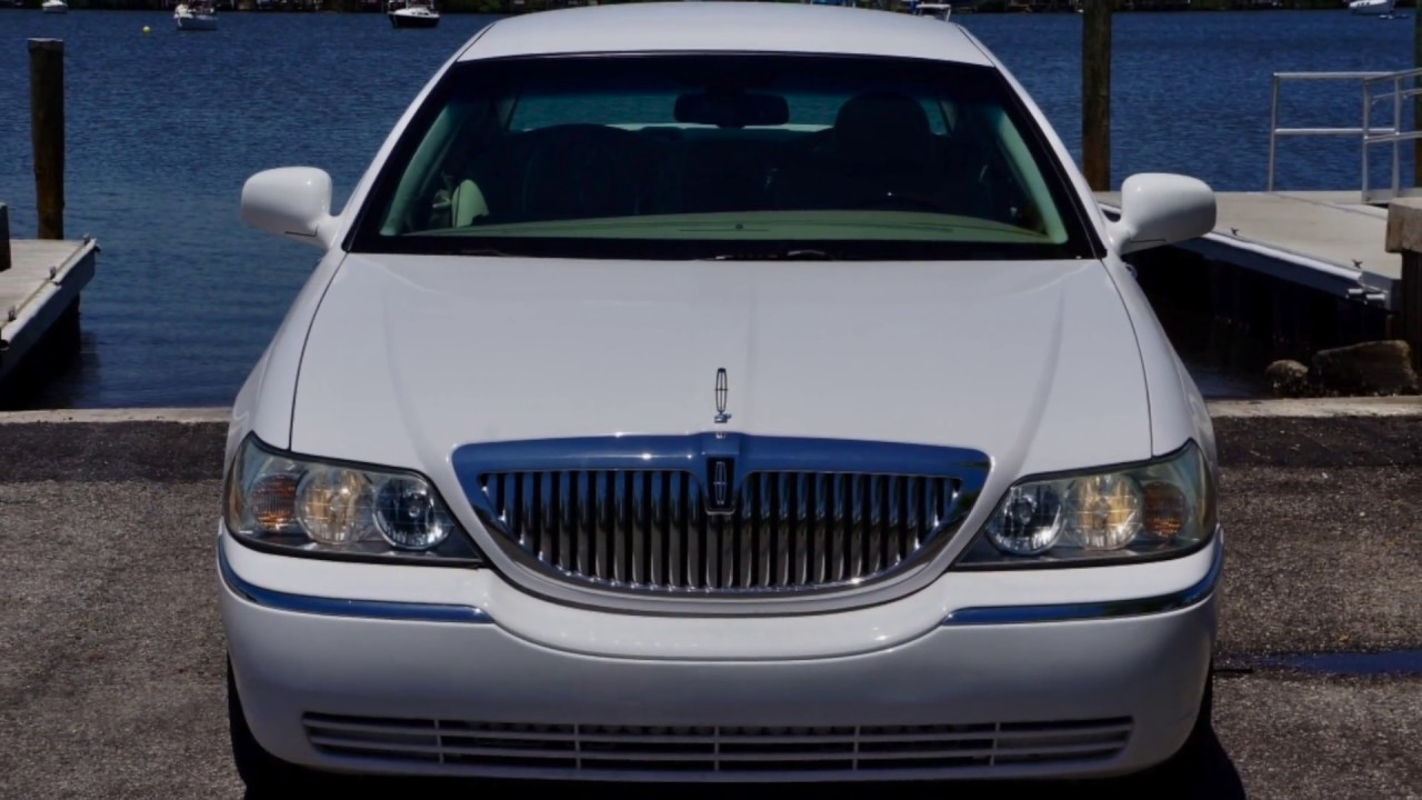 2008 Lincoln Town Car Signature Limited For Sale Youtube