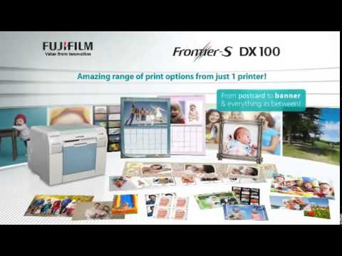 Fujifilm Frontiers Dx100 Foto Club Inc Youtube