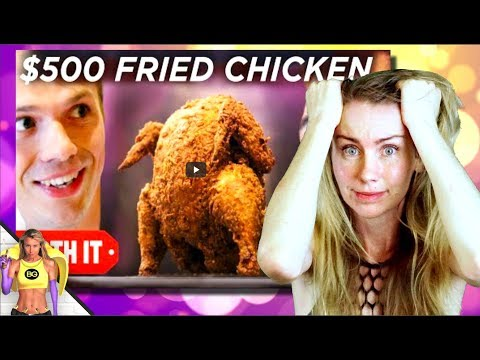 $500 FRIED CHICKEN VS $17 VEGAN REACTION