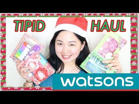 Watsons Tipid Haul🎄 + Murang pang-regalo! 👍🏼 + Giveaway! |Raych Ramos💕