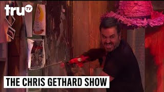 The Chris Gethard Show - Q's Chainsaw Rampage   truTV