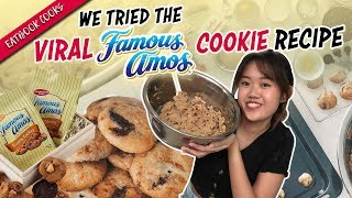 We Tried The Viral Famous Amos Cookie Recipe  Eatbook Cooks - Circuit Bakers  EP 25