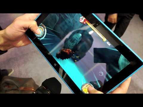 Gaming on Nokia Lumia 2520 Tablet