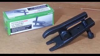How to Remove a Ball Joint Safely - Harbor Freight Ball Joint Separator Tool Review
