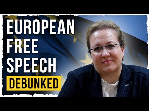 European Free Speech – Debunked (ECHR)