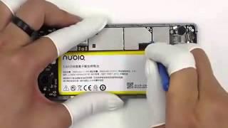 Nubia Z9 Classic Borderless Phone Disassembly Evaluation