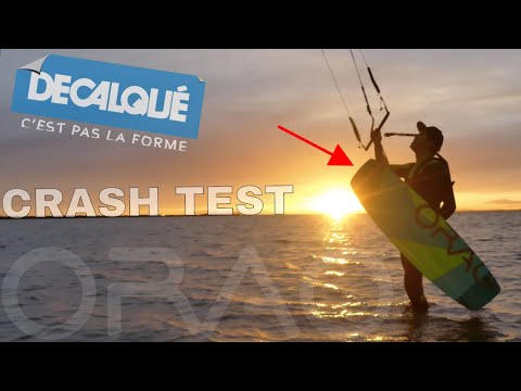 Rider la Planche KITESURF  ORAO DECATHLON  | CRASH TEST | LAB TV ⭐