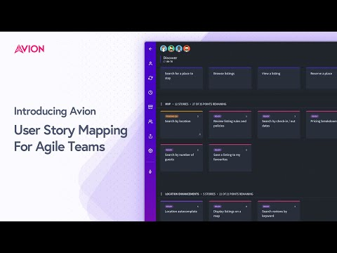 Introducing Avion – User Story Mapping for Agile Teams