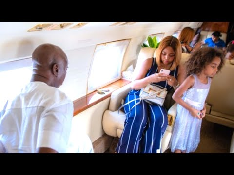 Ned Nwoko Arrived Asaba In 3 Private Jets Ahead of Regina Daniels Events