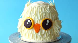 A Hedwig Owl Cake Recipe Any Wizard Would Love!