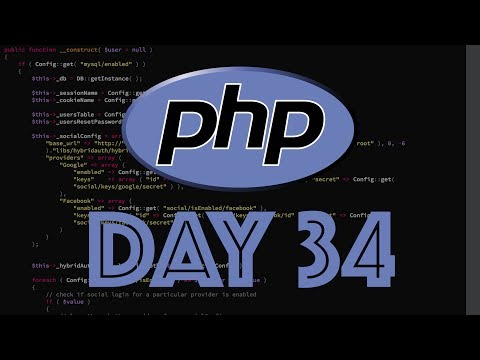PHP Web Framework Day 34 - SSO/Auth Part 4