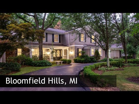 Tour Of 760 Kennebec Ct | Bloomfield Hills MI Real Estate & Homes