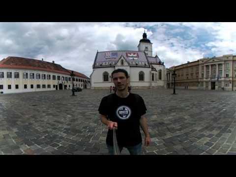 Zagreb center in 360!