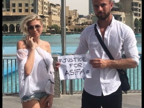 # Justice For Asifa # First  from Dubai # Video reported in News Paper #