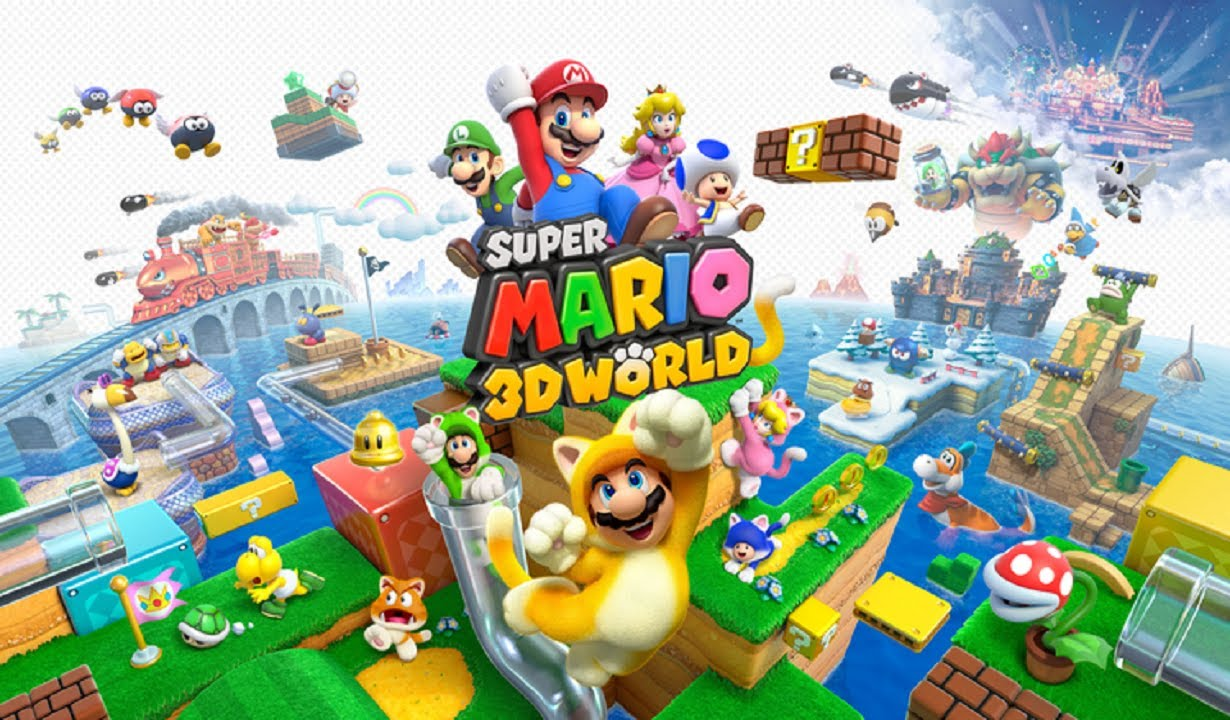 Lets Play Super Mario 3d World Part 23 Whos Peepa Youtube
